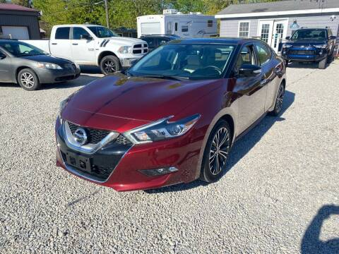 2017 Nissan Maxima for sale at Davidson Auto Deals in Syracuse IN