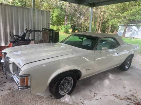 1972 Mercury Cougar for sale at FORD'S AUTO SALES in Houston TX