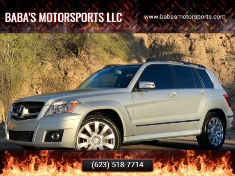 2012 Mercedes-Benz GLK for sale at Baba's Motorsports, LLC in Phoenix AZ