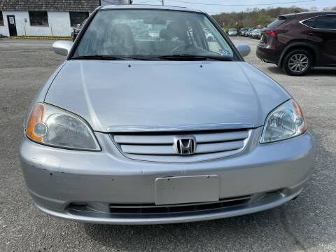 2003 Honda Civic for sale at Ron Motor Inc. in Wantage NJ