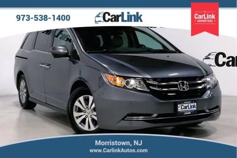 2017 Honda Odyssey for sale at CarLink in Morristown NJ