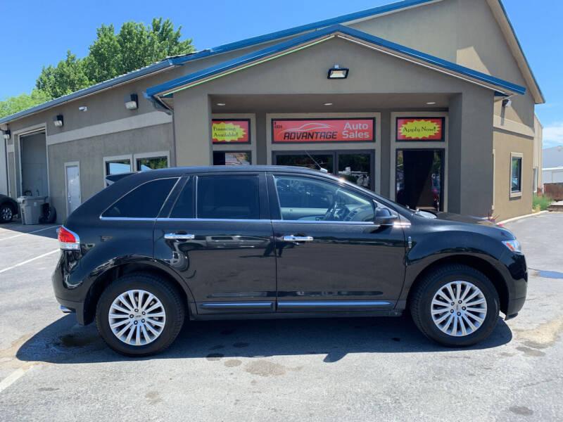 2013 Lincoln MKX for sale at Advantage Auto Sales in Garden City ID