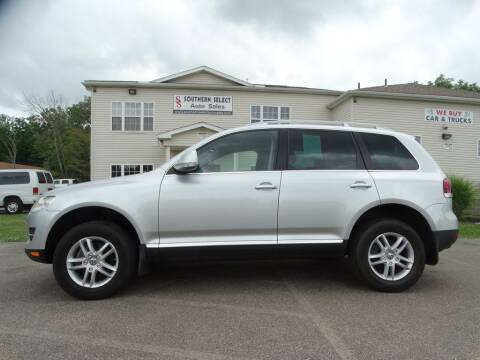 2008 Volkswagen Touareg 2 for sale at SOUTHERN SELECT AUTO SALES in Medina OH