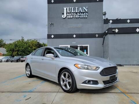 2013 Ford Fusion for sale at Julian Auto Sales, Inc. in Warren MI