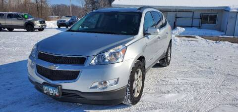 2009 Chevrolet Traverse for sale at Transmart Autos in Zimmerman MN