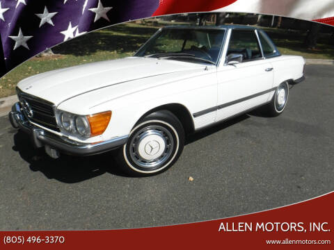 1973 Mercedes-Benz 450 SL for sale at Allen Motors, Inc. in Thousand Oaks CA