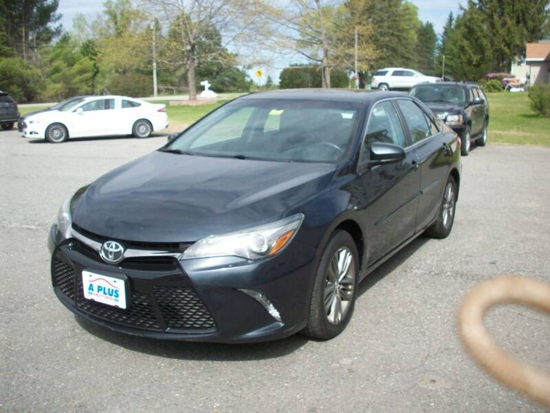 2015 Toyota Camry for sale at A-Plus Motors in Alton ME