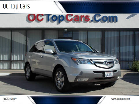 2009 Acura MDX for sale at OC Top Cars in Irvine CA