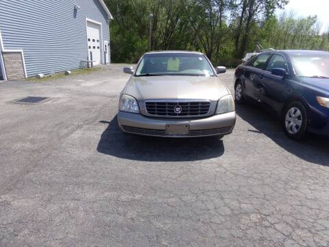 2004 Cadillac DeVille for sale at Pool Auto Sales Inc in Spencerport NY