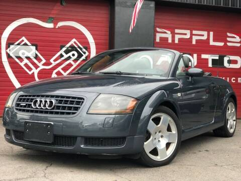 2004 Audi TT for sale at Apple Auto Sales Inc in Camillus NY