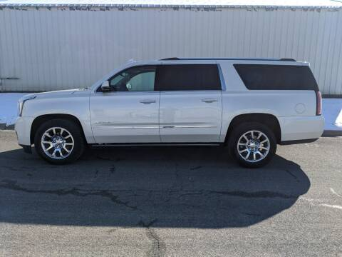 2015 GMC Yukon XL for sale at TNK Autos in Inman KS
