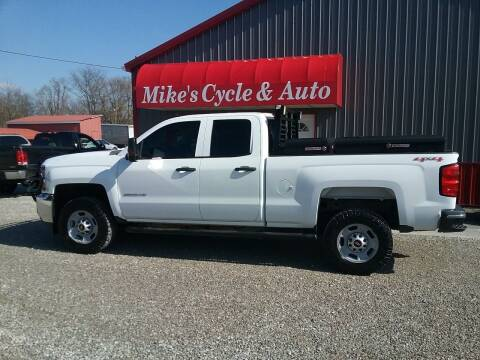 2015 Chevrolet Silverado 2500HD for sale at MIKE'S CYCLE & AUTO in Connersville IN