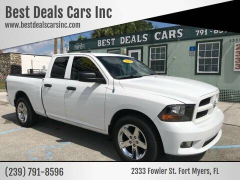 2012 RAM Ram Pickup 1500 for sale at Best Deals Cars Inc in Fort Myers FL
