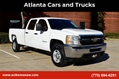 2011 Chevrolet Silverado 2500HD for sale at Atlanta Cars and Trucks in Kennesaw GA