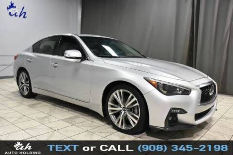 2018 Infiniti Q50 for sale at AUTO HOLDING in Hillside NJ