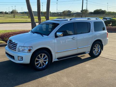 2008 Infiniti QX56 for sale at M A Affordable Motors in Baytown TX