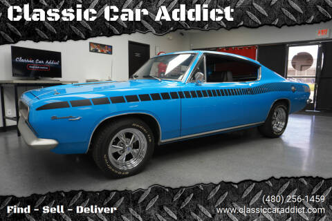 1967 Plymouth Barracuda for sale at Classic Car Addict in Mesa AZ