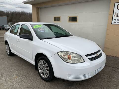 2010 Chevrolet Cobalt for sale at G & G Auto Sales in Steubenville OH