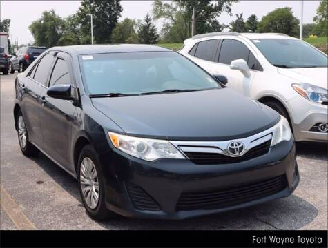 2014 Toyota Camry for sale at BOB ROHRMAN FORT WAYNE TOYOTA in Fort Wayne IN