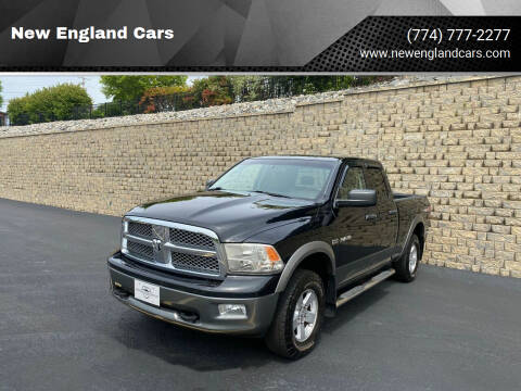 2010 Dodge Ram Pickup 1500 for sale at New England Cars in Attleboro MA