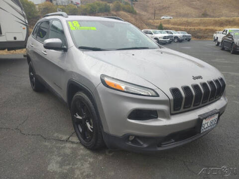 2018 Jeep Cherokee for sale at Guy Strohmeiers Auto Center in Lakeport CA