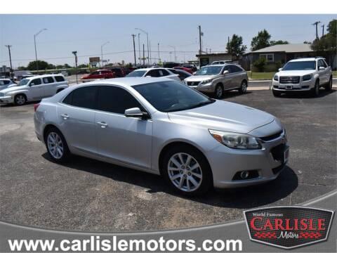 2014 Chevrolet Malibu for sale at Carlisle Motors in Lubbock TX