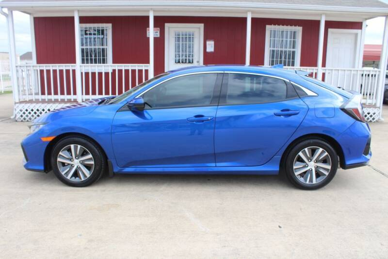 2020 Honda Civic for sale at AMT AUTO SALES LLC in Houston TX
