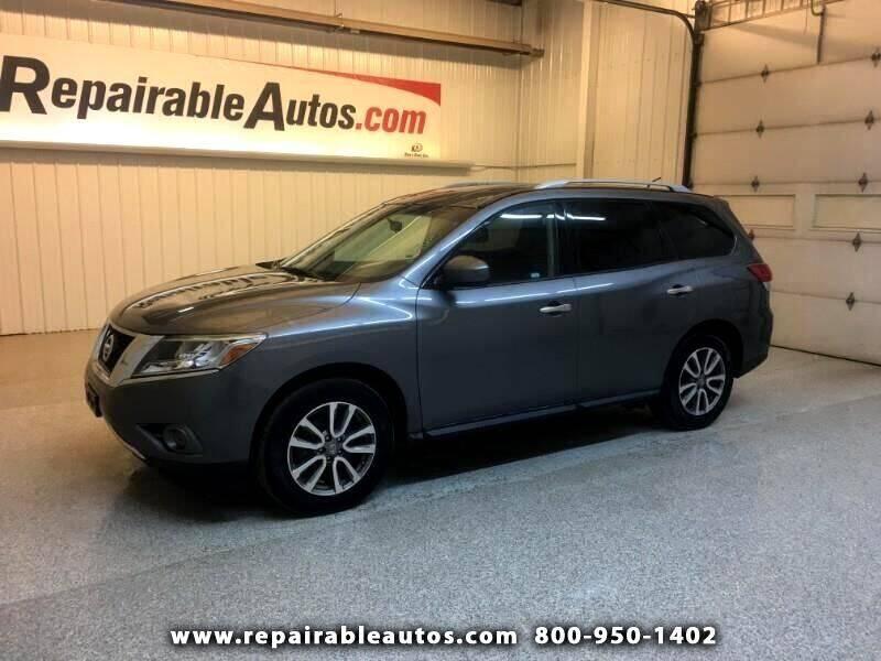 2015 Nissan Pathfinder for sale at Ken's Auto in Strasburg ND