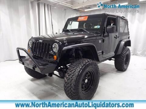 2015 Jeep Wrangler for sale at North American Auto Liquidators in Essington PA