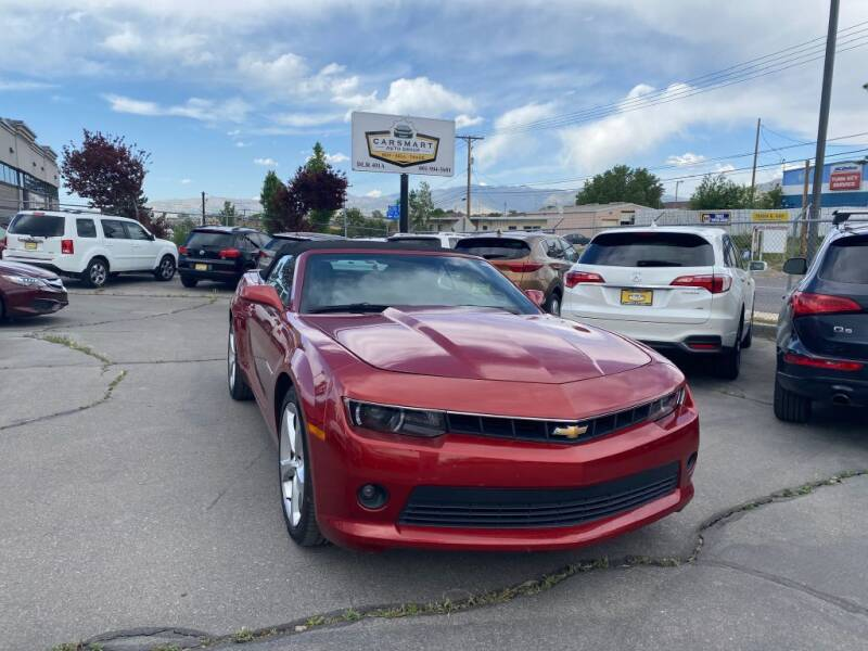 2015 Chevrolet Camaro for sale at CarSmart Auto Group in Murray UT