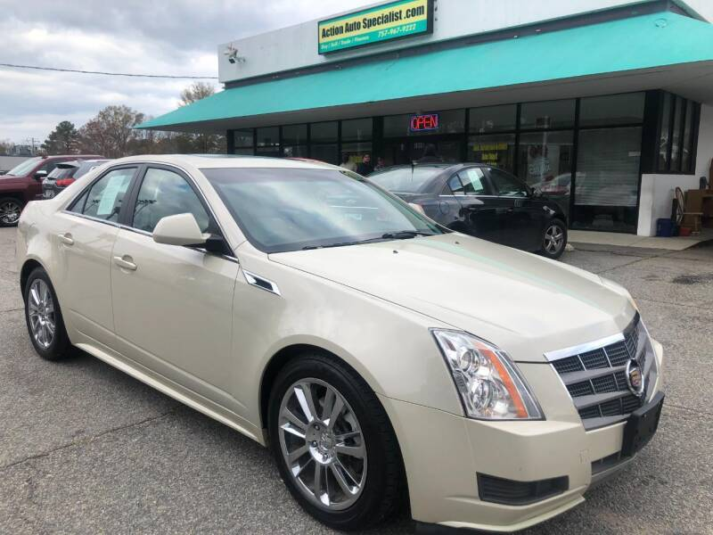 2011 Cadillac CTS for sale at Action Auto Specialist in Norfolk VA