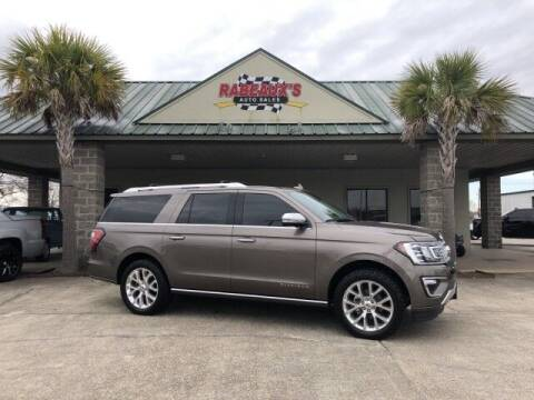 2019 Ford Expedition MAX for sale at Rabeaux's Auto Sales in Lafayette LA
