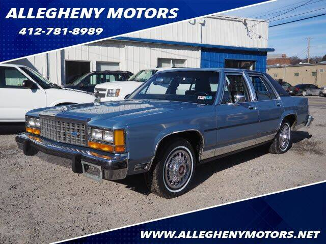 1985 Ford LTD Crown Victoria for sale in Pittsburgh, PA
