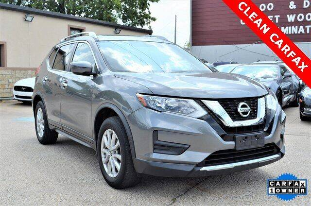 2017 Nissan Rogue for sale at LAKESIDE MOTORS, INC. in Sachse TX