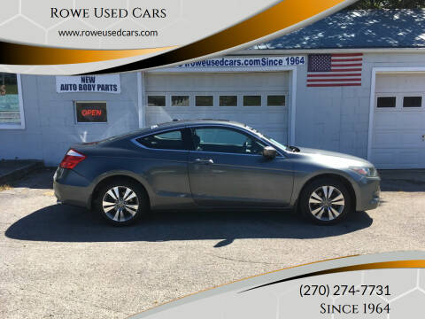 2008 Honda Accord for sale at Rowe Used Cars in Beaver Dam KY