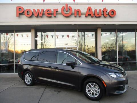 2020 Chrysler Voyager for sale at Power On Auto LLC in Monroe NC