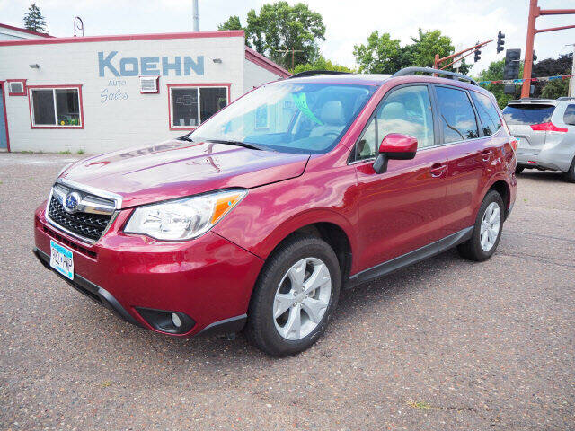 2015 Subaru Forester AWD 2.5i Limited 4dr Wagon - Lindstrom MN