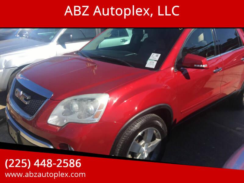 2012 GMC Acadia for sale at ABZ Autoplex, LLC in Baton Rouge LA