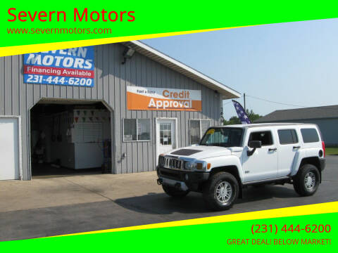 2008 HUMMER H3 for sale at Severn Motors in Cadillac MI
