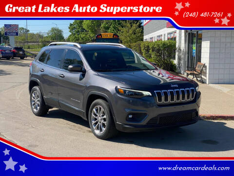2019 Jeep Cherokee for sale at Great Lakes Auto Superstore in Waterford Township MI
