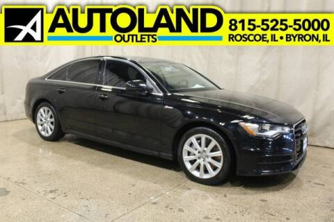 2012 Audi A6 for sale at AutoLand Outlets Inc in Roscoe IL