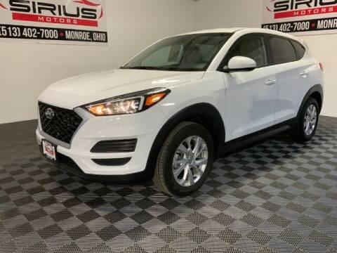 2019 Hyundai Tucson for sale at SIRIUS MOTORS INC in Monroe OH