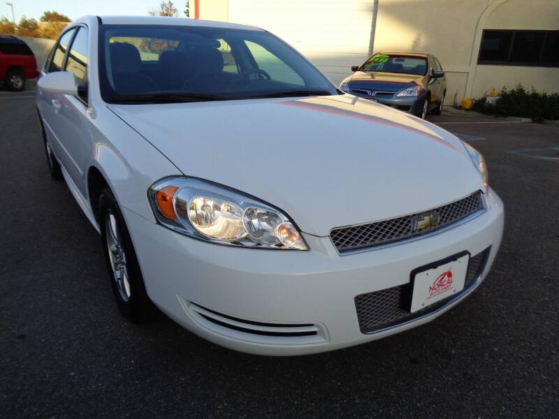 2014 Chevrolet Impala Limited for sale at NorCal Auto Mart in Vacaville CA