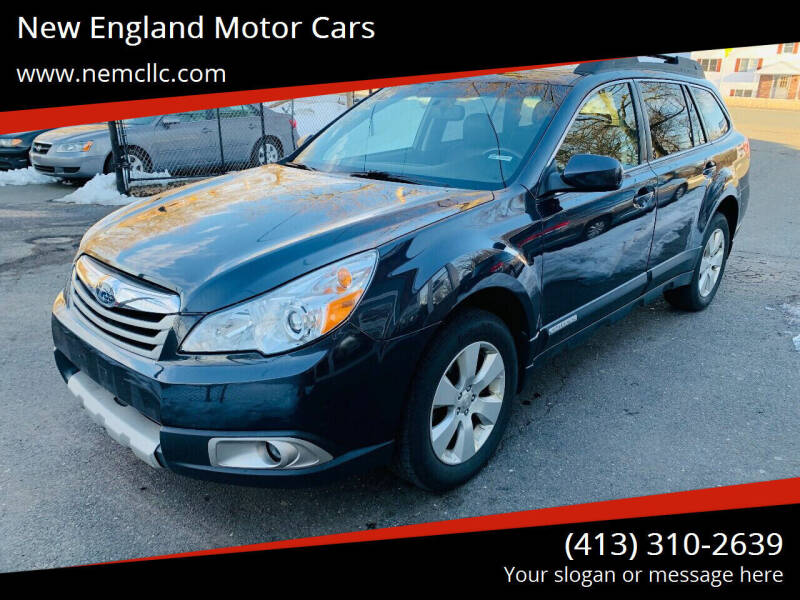 2010 Subaru Outback for sale at New England Motor Cars in Springfield MA