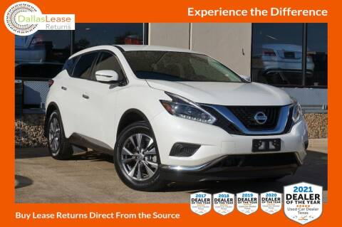 2018 Nissan Murano for sale at Dallas Auto Finance in Dallas TX
