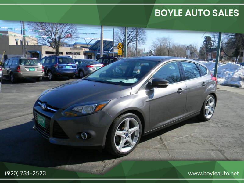 2013 Ford Focus for sale at Boyle Auto Sales in Appleton WI