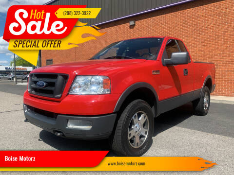 2004 Ford F-150 for sale at Boise Motorz in Boise ID