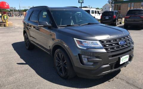 2017 Ford Explorer for sale at Carney Auto Sales in Austin MN