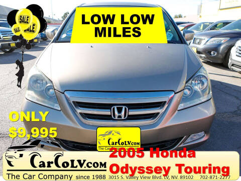 2005 Honda Odyssey for sale at The Car Company in Las Vegas NV
