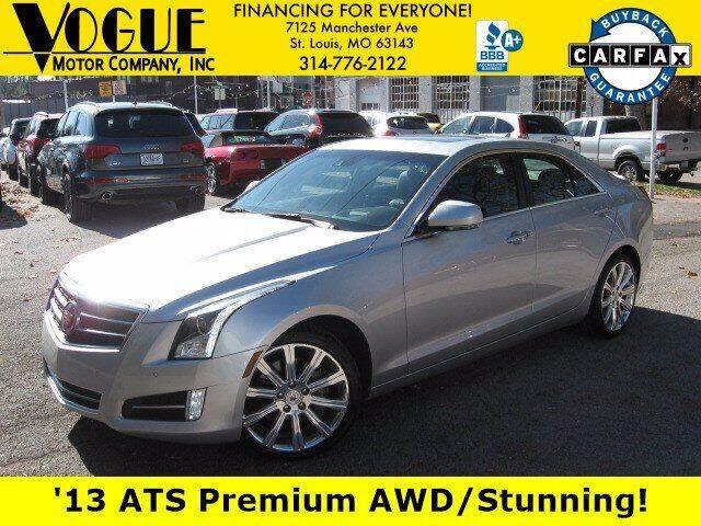 2013 Cadillac ATS for sale at Vogue Motor Company Inc in Saint Louis MO